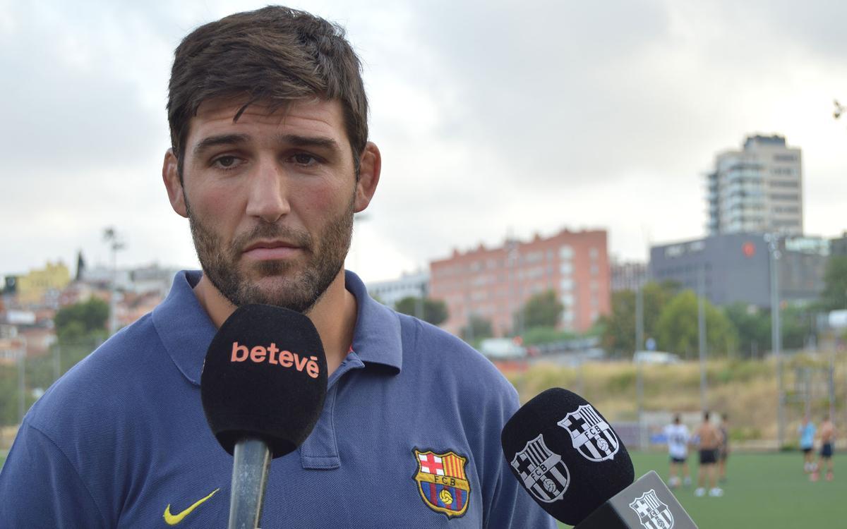 El Barça de rugbi torna a la feina amb Sergi Guerrero al timó
