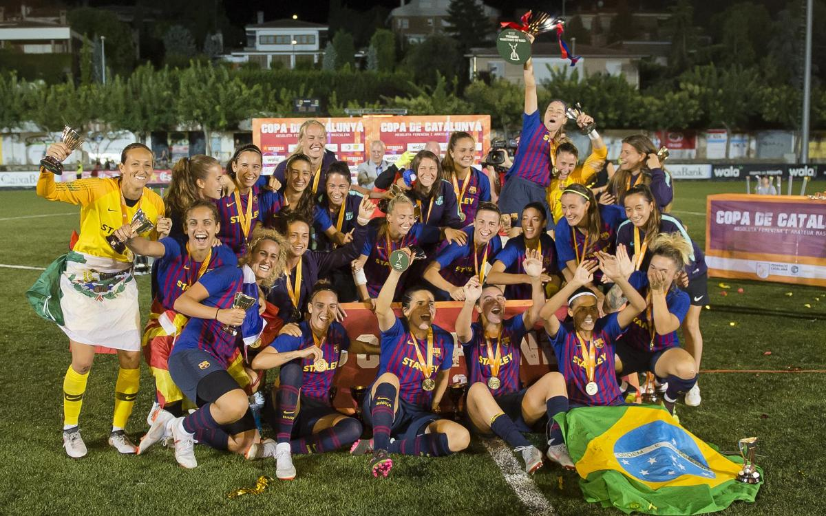 Barça Women – Espanyol: Copa Cataunya winners! (7-0)