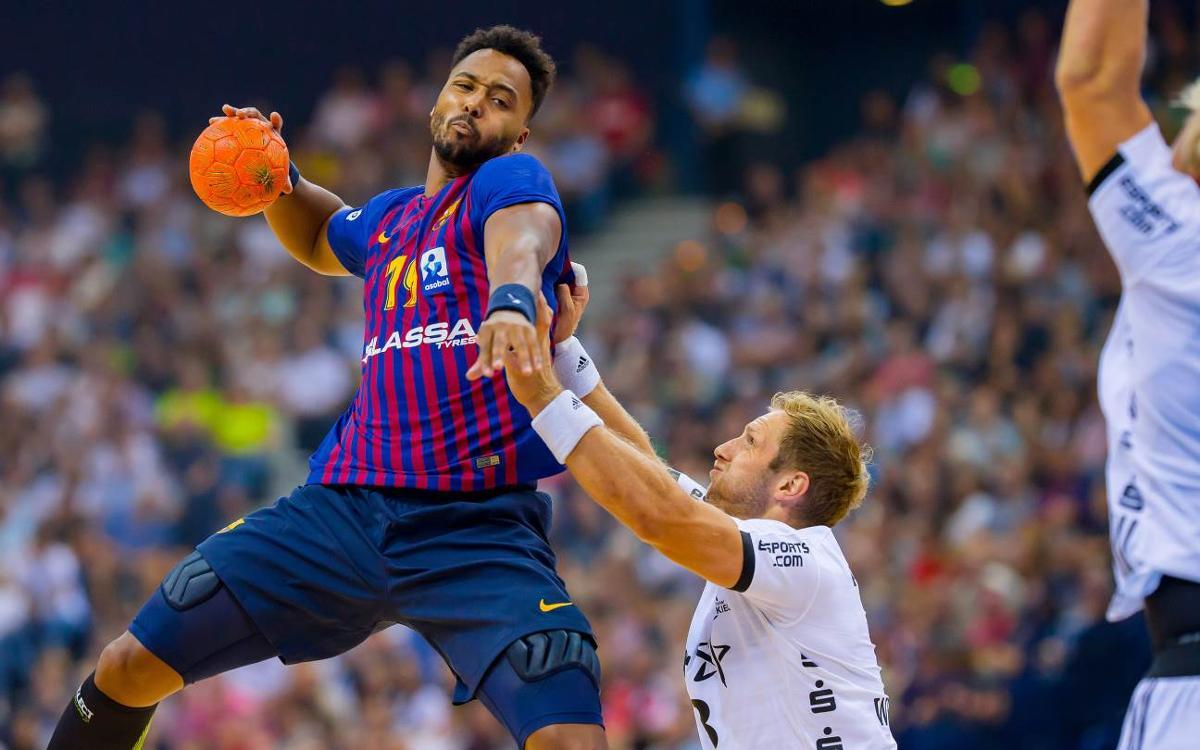 THWL Kiel - Barça Lassa: Primer partido de pretemporada para coger rodaje (28-24)