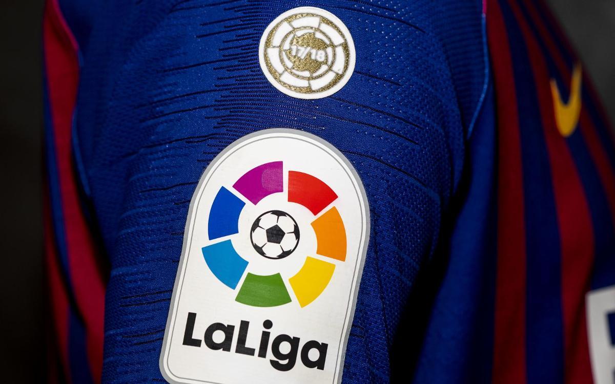 Barça to debut new LaLiga champions badge