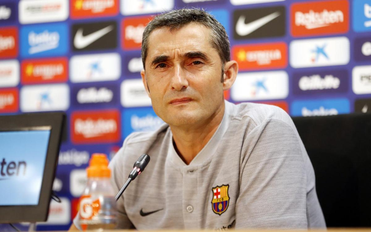 Ernesto Valverde: 'All away games are difficult'