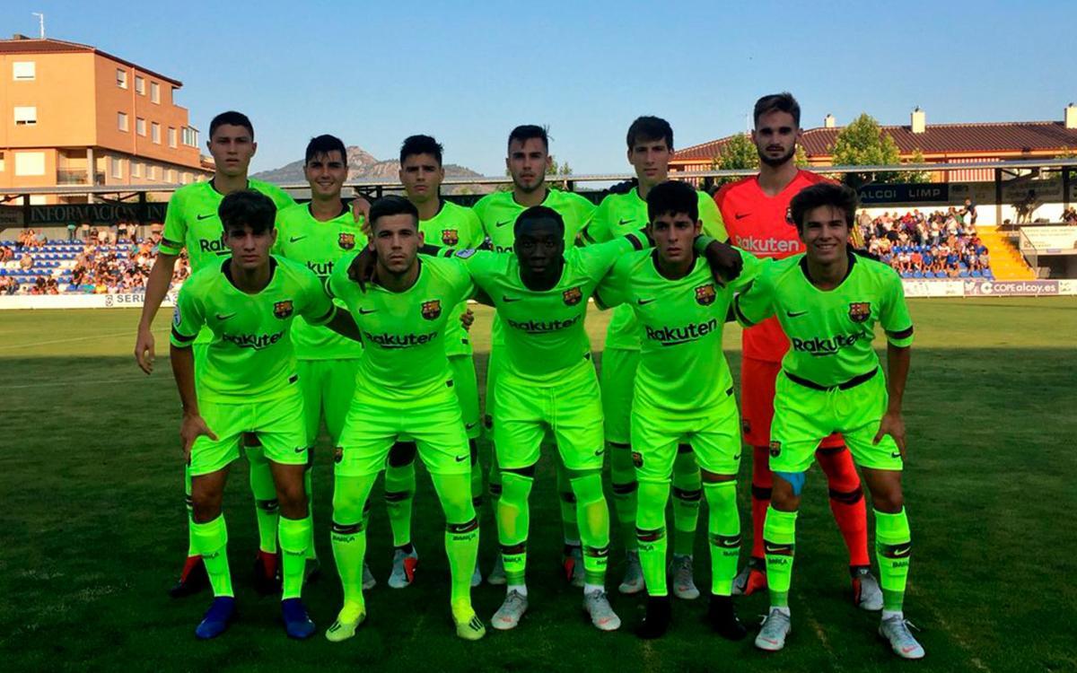 CD Alcoyano 3-1 FC Barcelona B: Losing start to Division 2B