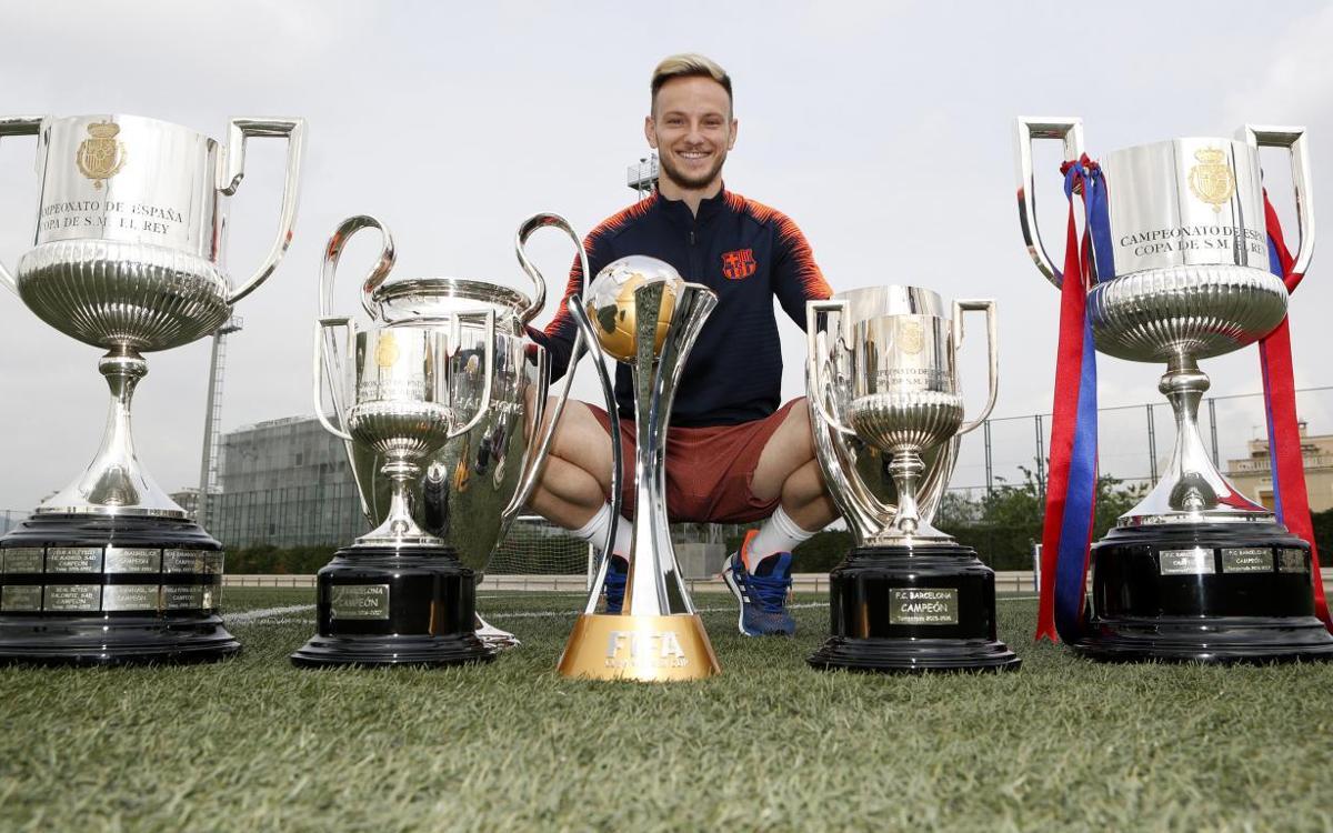 Ivan Rakitic: ocho victorias de ocho en finales con el Barça