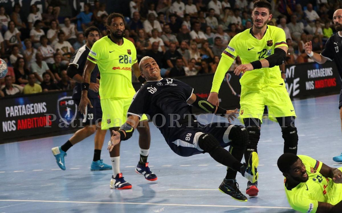 Montpeller HB – Barça Lassa: Bona nota en la segona prova de nivell (27-34)