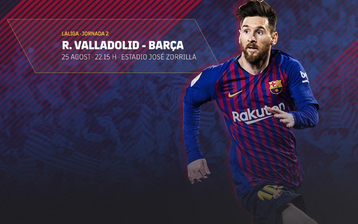Venda d'entrades per al partit al camp del Valladolid