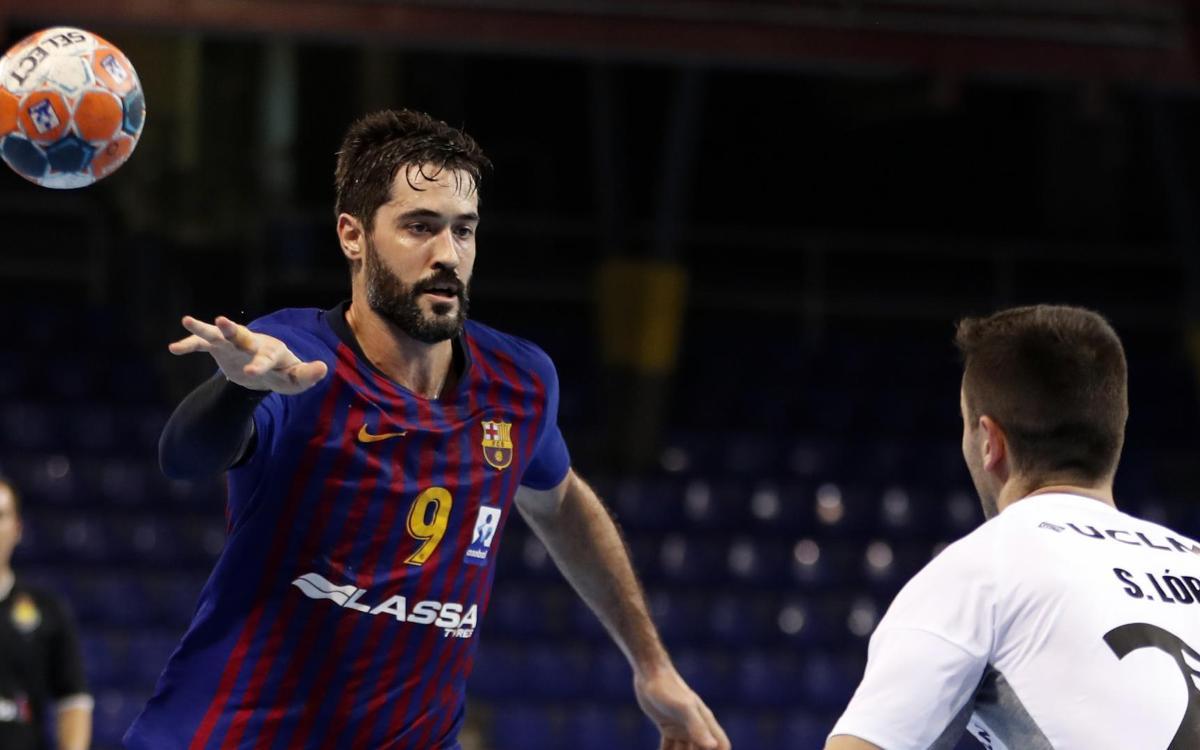 Barça Lassa – Bidasoa Irún: Duelo al frente de la clasificación