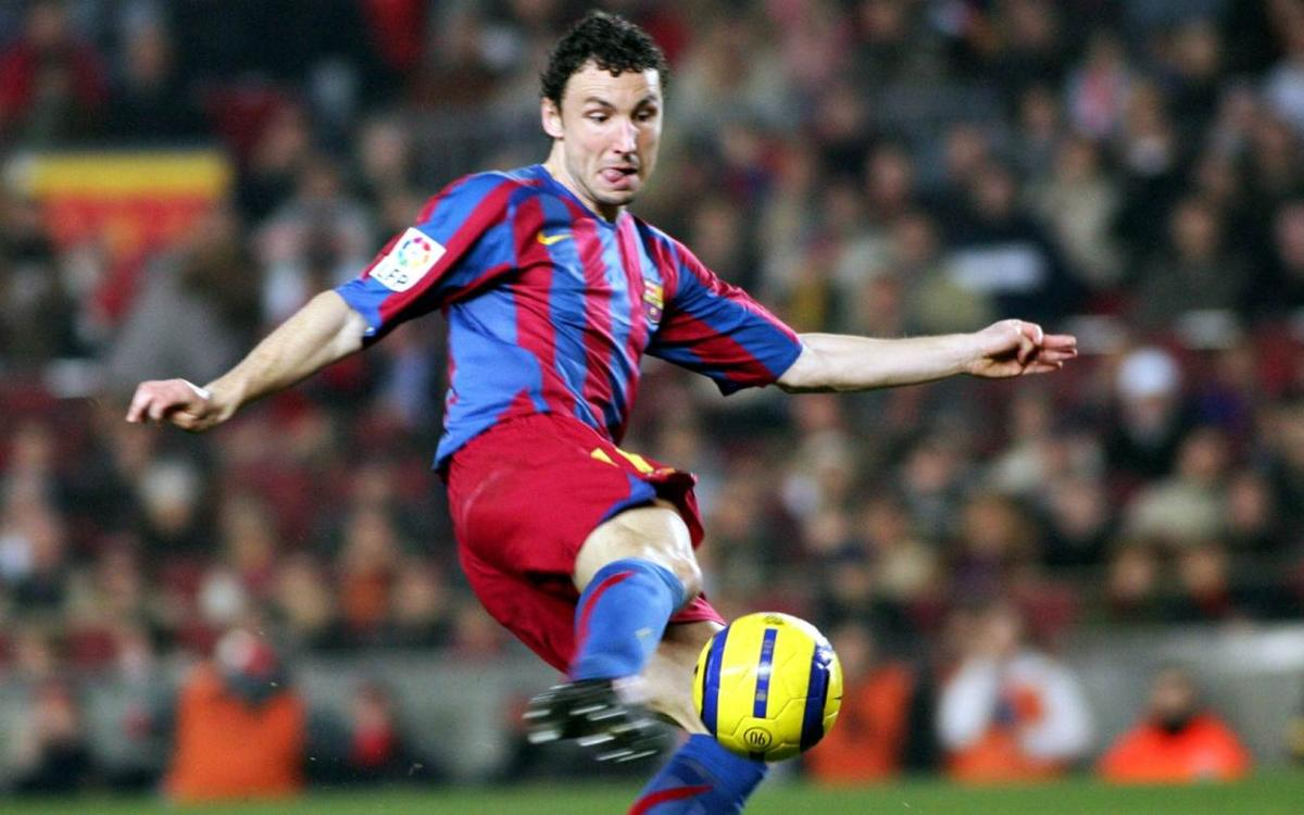 All of Mark Van Bommel's goals with Barça