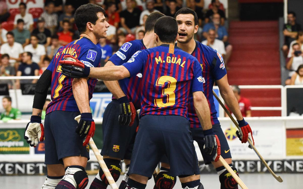 Barça Lassa - CE Vendrell: ¡Cuarta victoria consecutiva y líderes! (1-5)