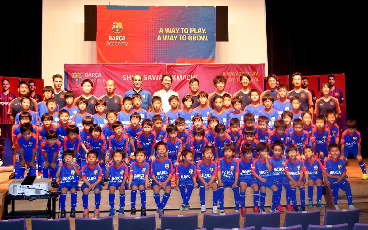 Obre les seves portes la Barça Academy Shinagawa Oimachi, la quarta del Japó