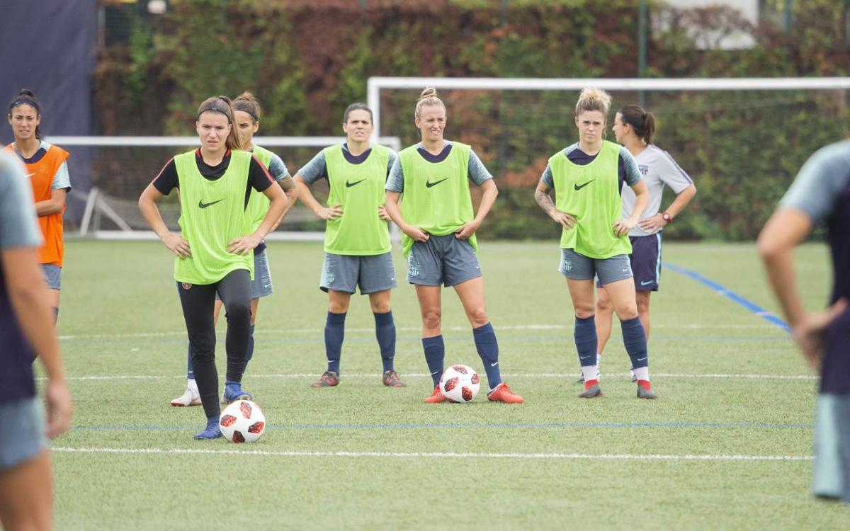 El Barça Femení reprèn l'activitat