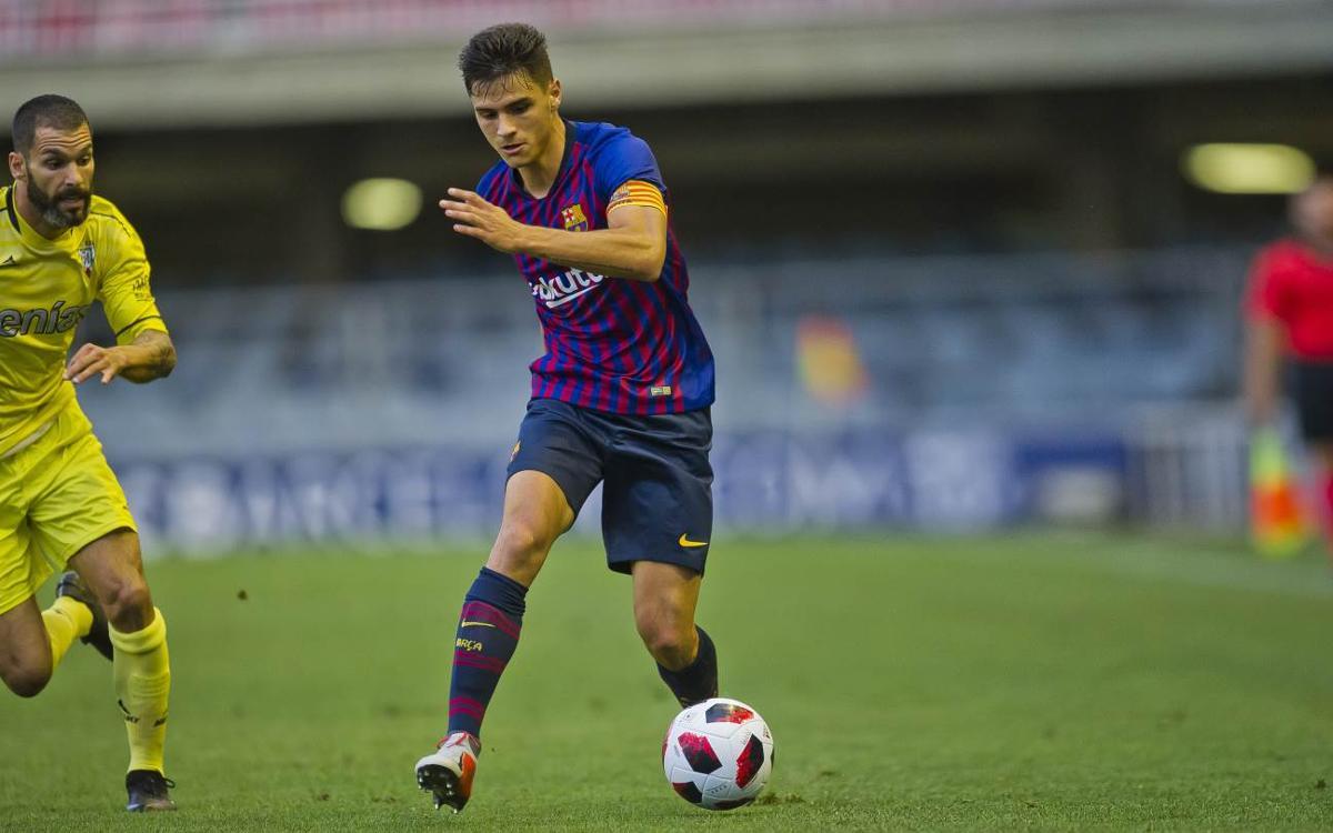 Sarsanedas, 50 partidos con el Barça B