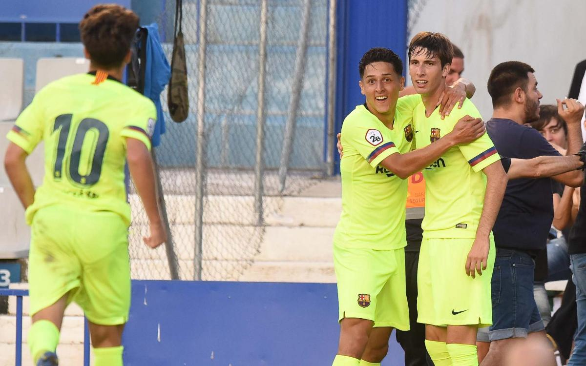 C.E Sabadell – Barça B: First win of the season (0-1)