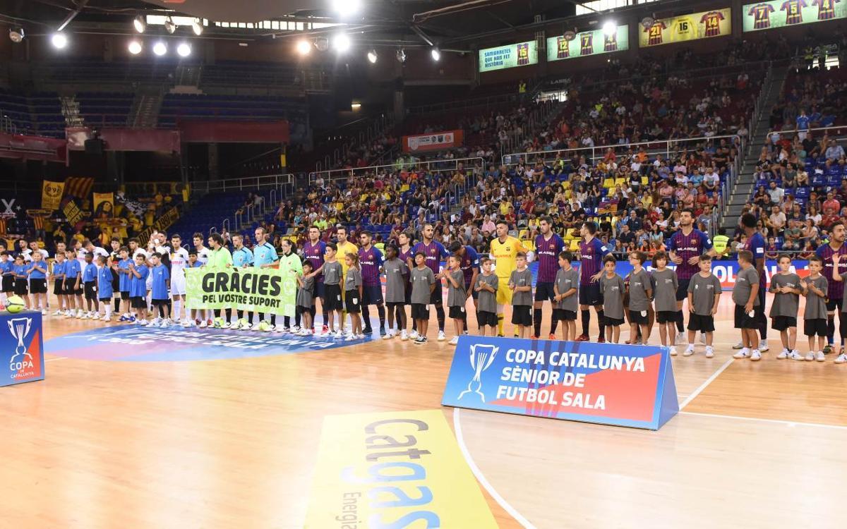 Les tres primeres jornades de lliga, al Palau