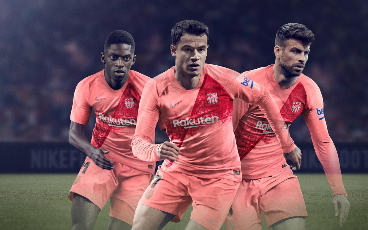 Homage to Barcelona: Launch of third strip for 2018/19 season