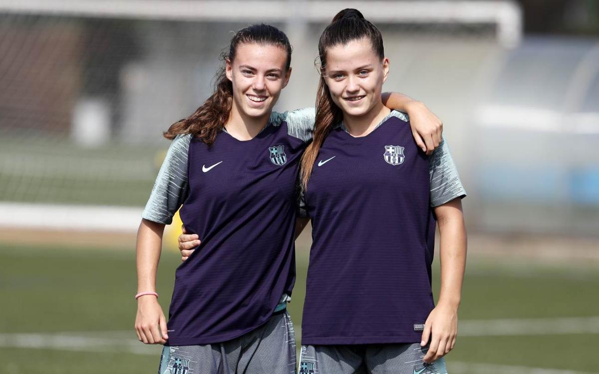 Se incorporan Candela Andújar y Claudia Pina
