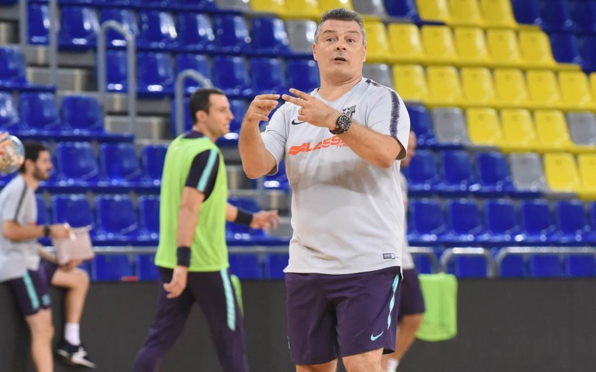 Secin Group Alcobendas - Barça Lassa: Preparados para el debut en la Liga Asobal