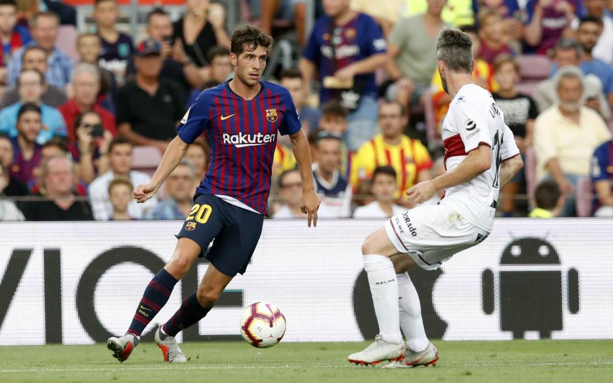 FC Barcelona - Huesca (8-2)