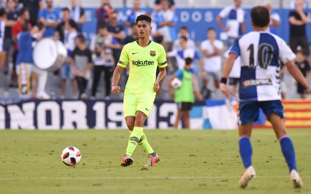 Teruel 1-0 Barça B: Defeat in Aragón