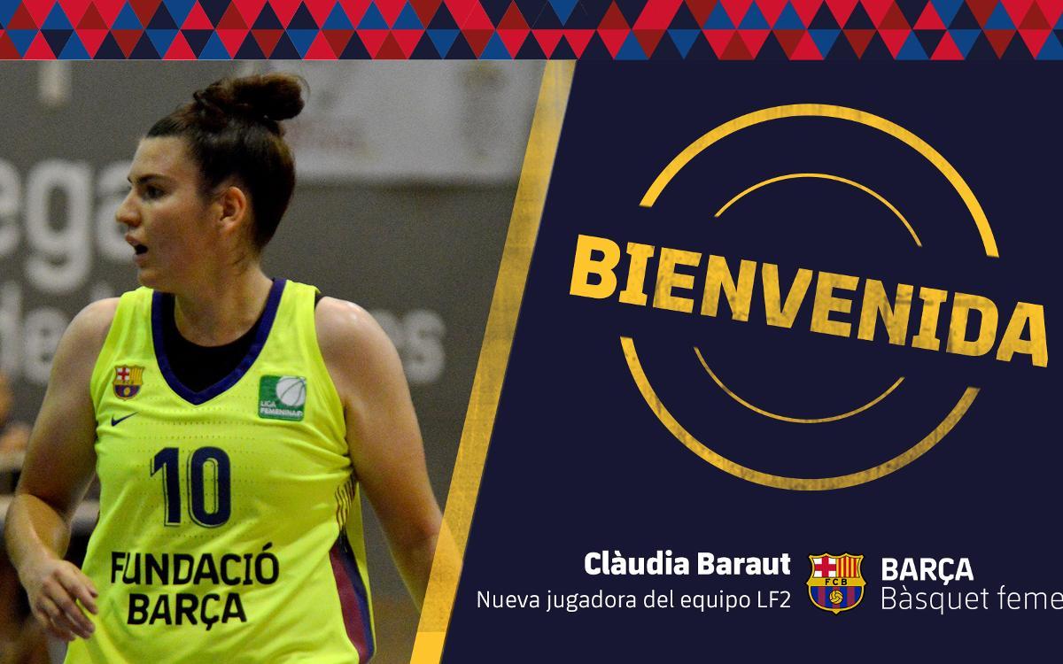 Clàudia Baraut una de las últimas piezas del baloncesto femenino