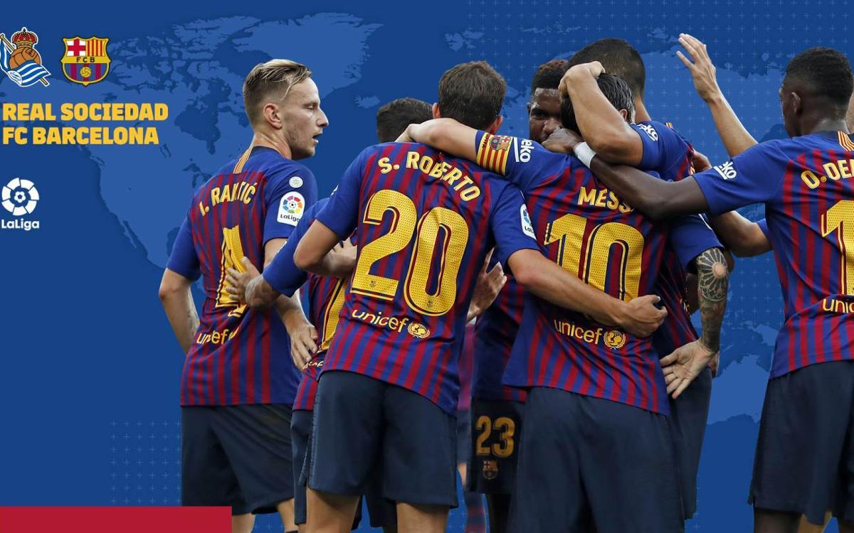 Quan i on veure el Reial Societat - FC Barcelona