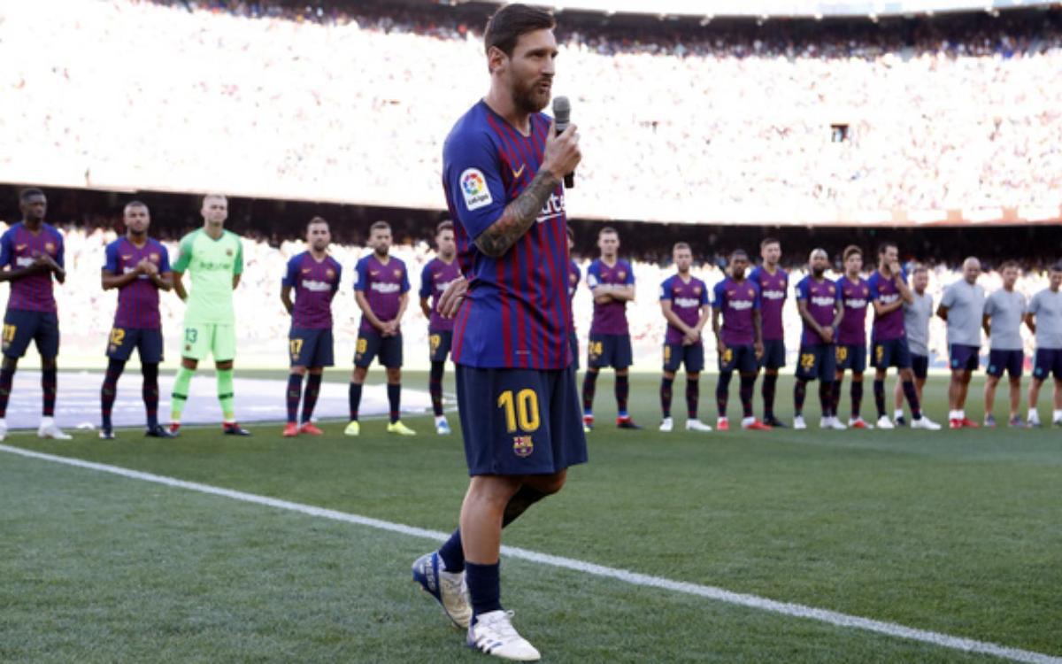"""Messi: """"Iniesta i Xavi son únics, però el nostre estil no ha canviat"""""""