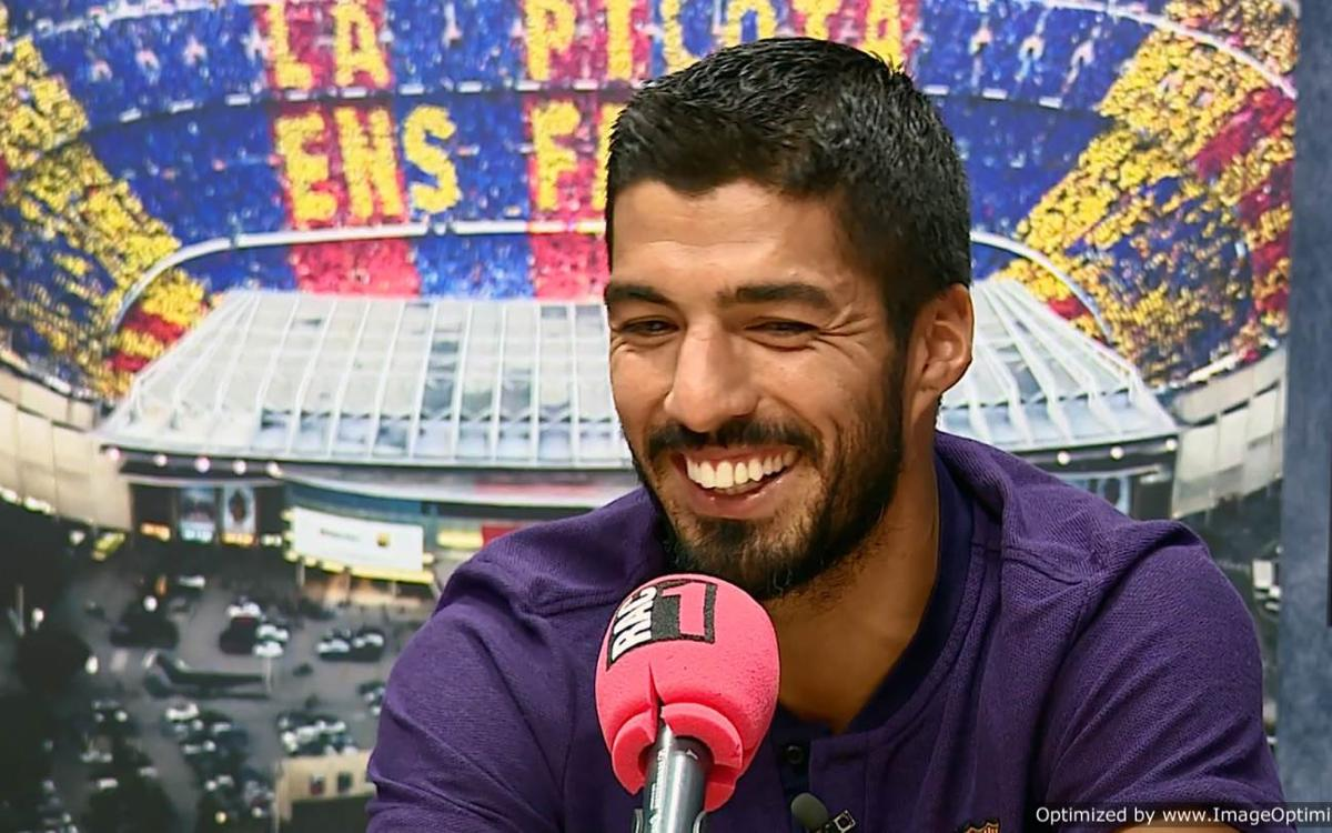 Luis Suárez: 'I had always dreamed of being at this club'