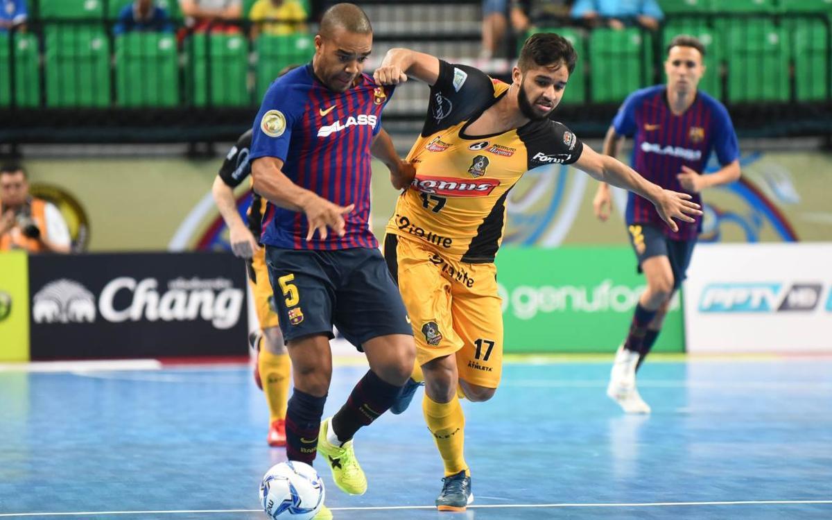 Magnus Futsal-Barça Lassa: Mereixien més (1-0)