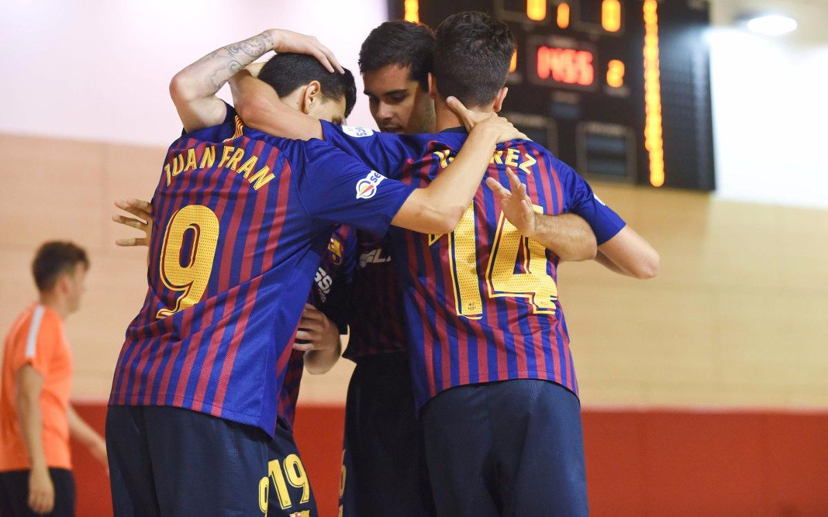 Manzanares FS – Barça Lassa B (2-2): Empate cruel