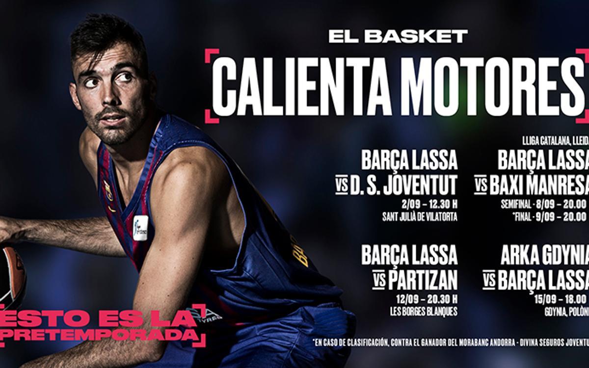 El debut del Barça Lassa en Sant Julià, en directo por Barça TV