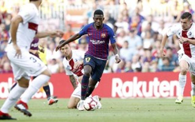 Fc Barcelona Huesca La Liga Matchday 3 Fc Barcelona