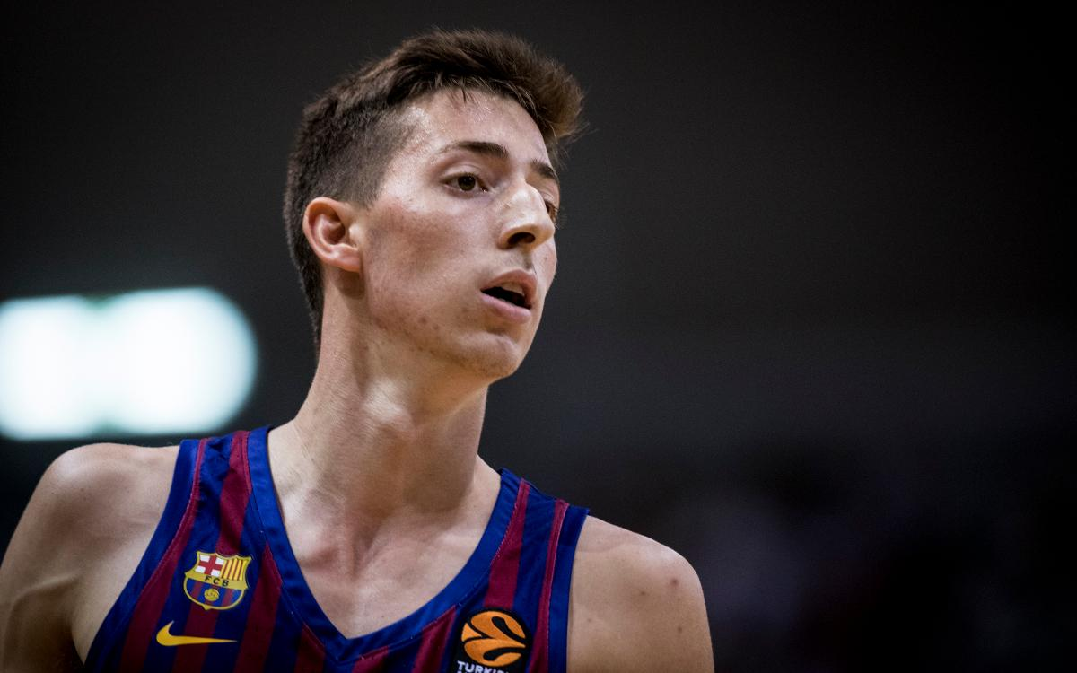 Aleix Font: 8 puntos el día de su debut con el Barça Lassa