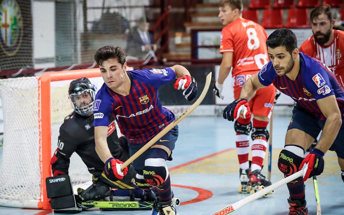 FC Barcelona Lassa - Citylift Girona HC: ¡hacia la final de la Liga Catalana! (4-1)