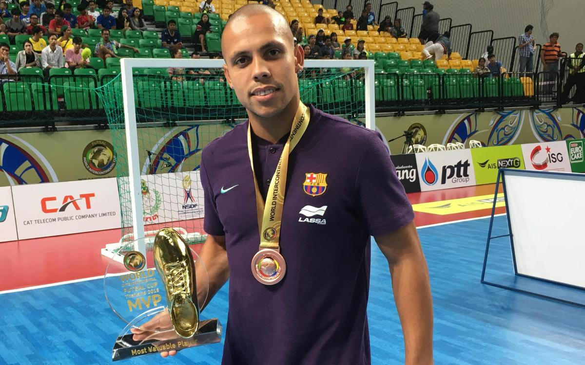 Ferrao, elegido MVP de la Copa Intercontinental 2018