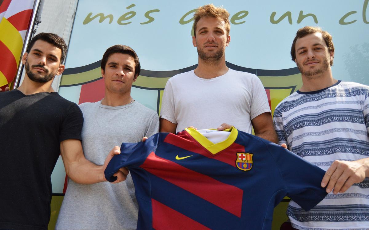 Más talento argentino para el Barça de rugby