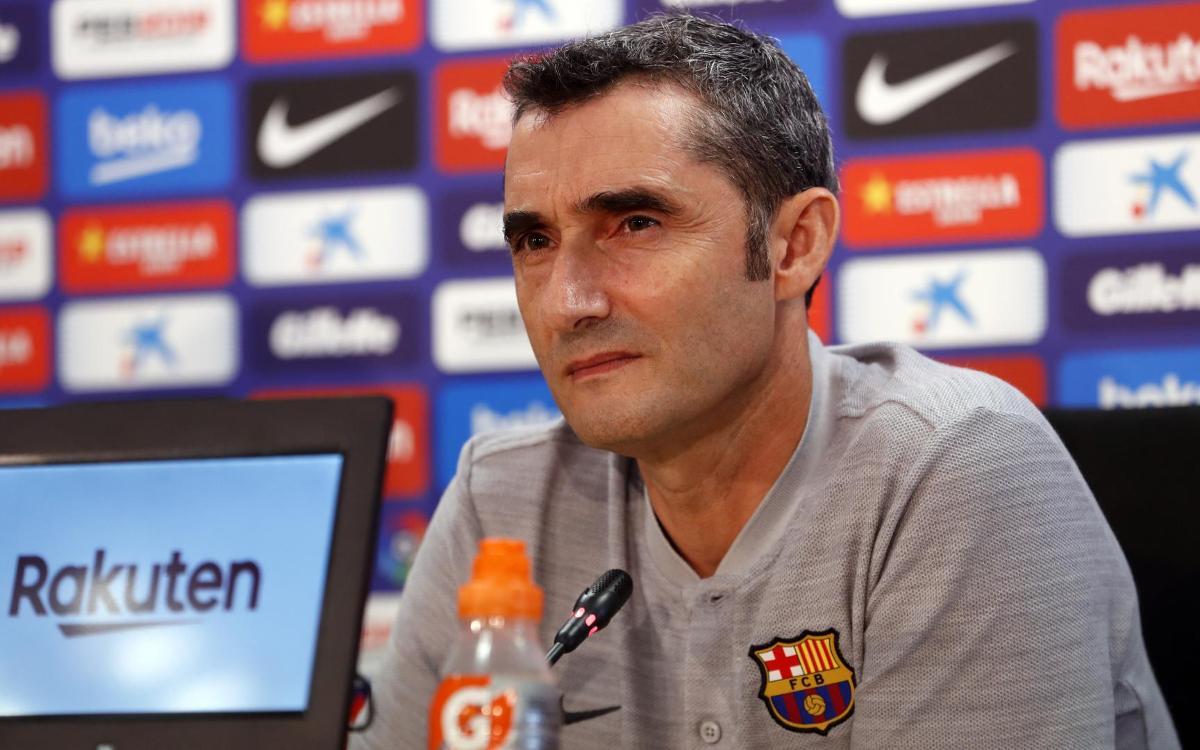 """Ernesto Valverde: """"L'Osca plantarà cara"""""""
