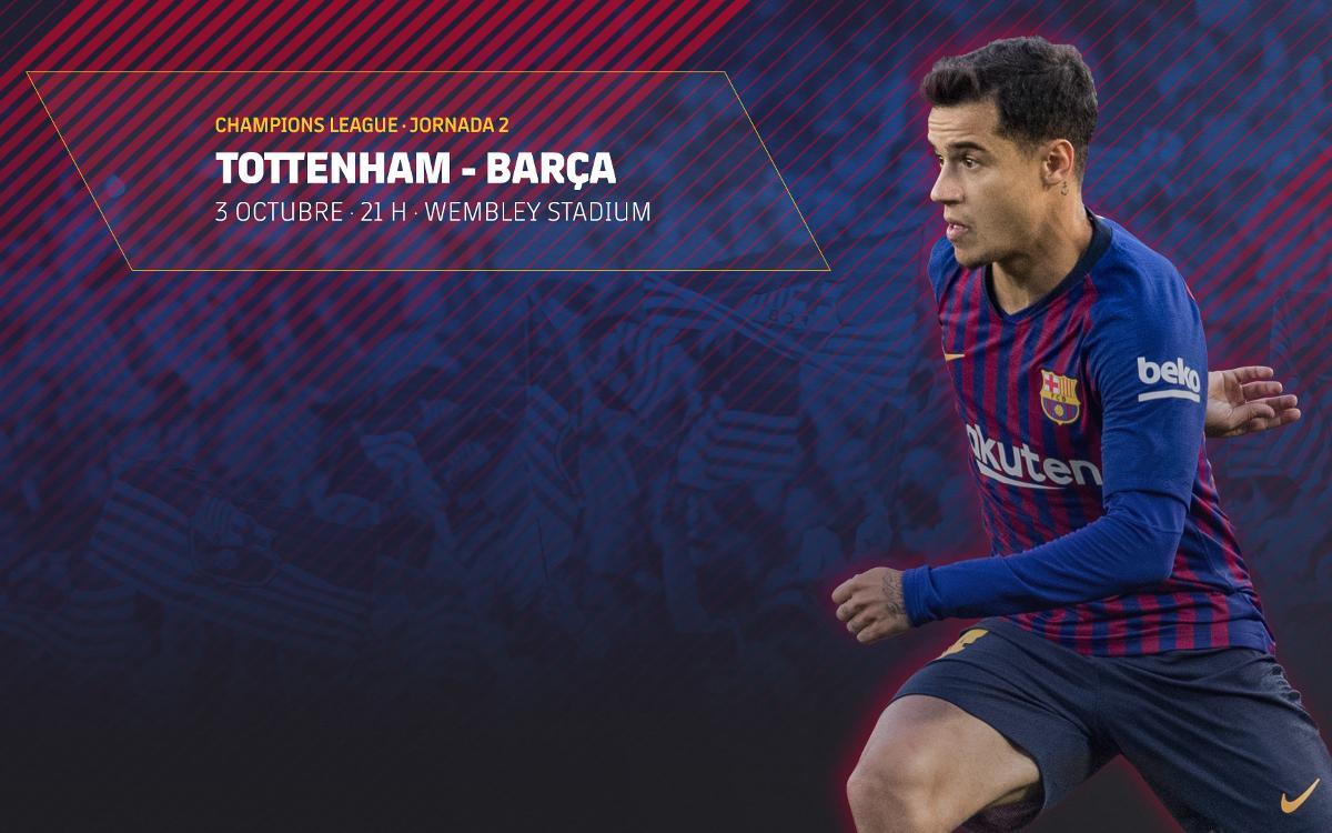 Venta de entradas para el partido contra el Tottenham en Londres