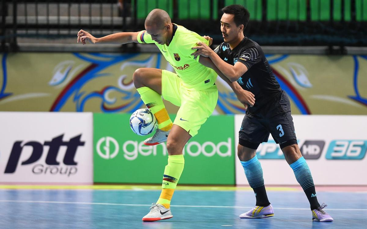 FC Barcelona Lassa v Chonburi: Goal fest and third place in Intercontinental Cup (12-2)