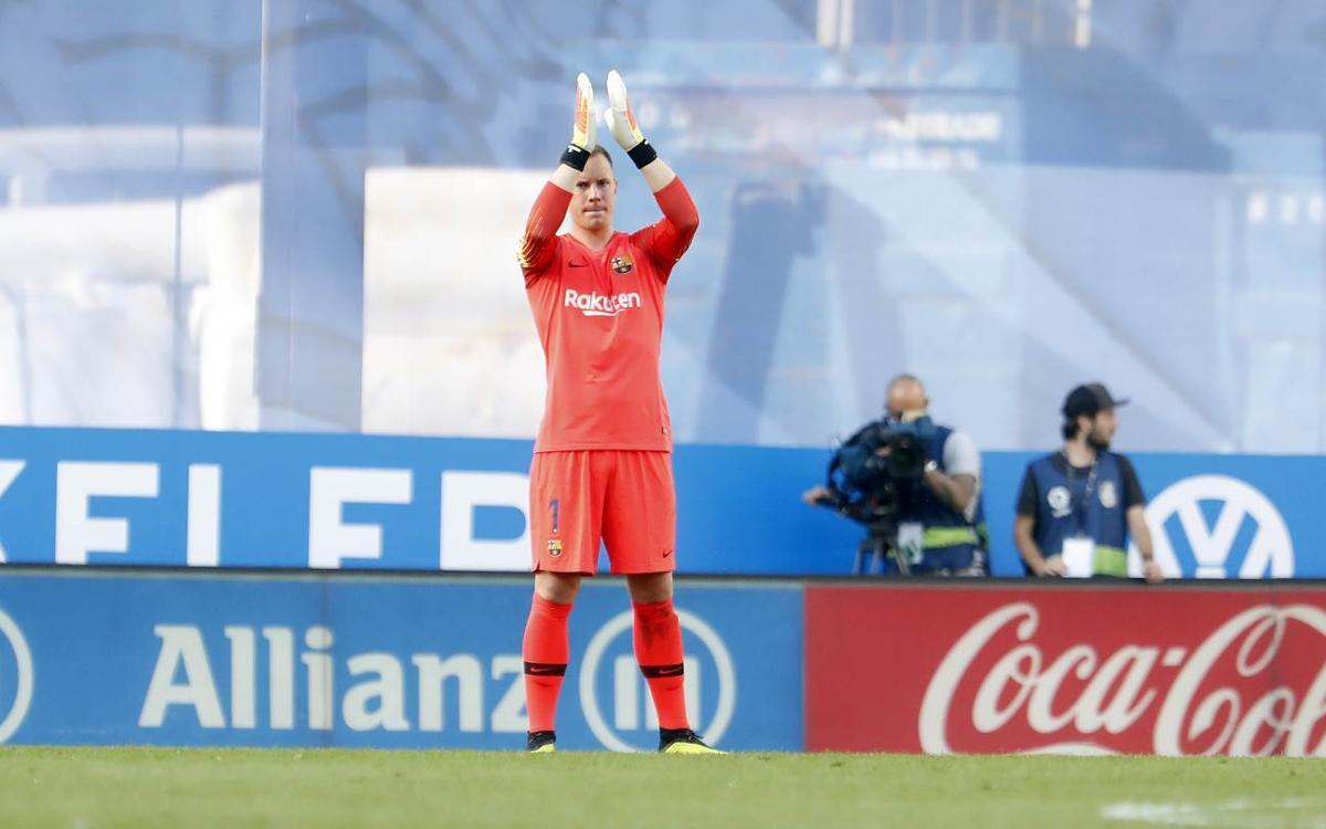 Ter Stegen's saves secure victories