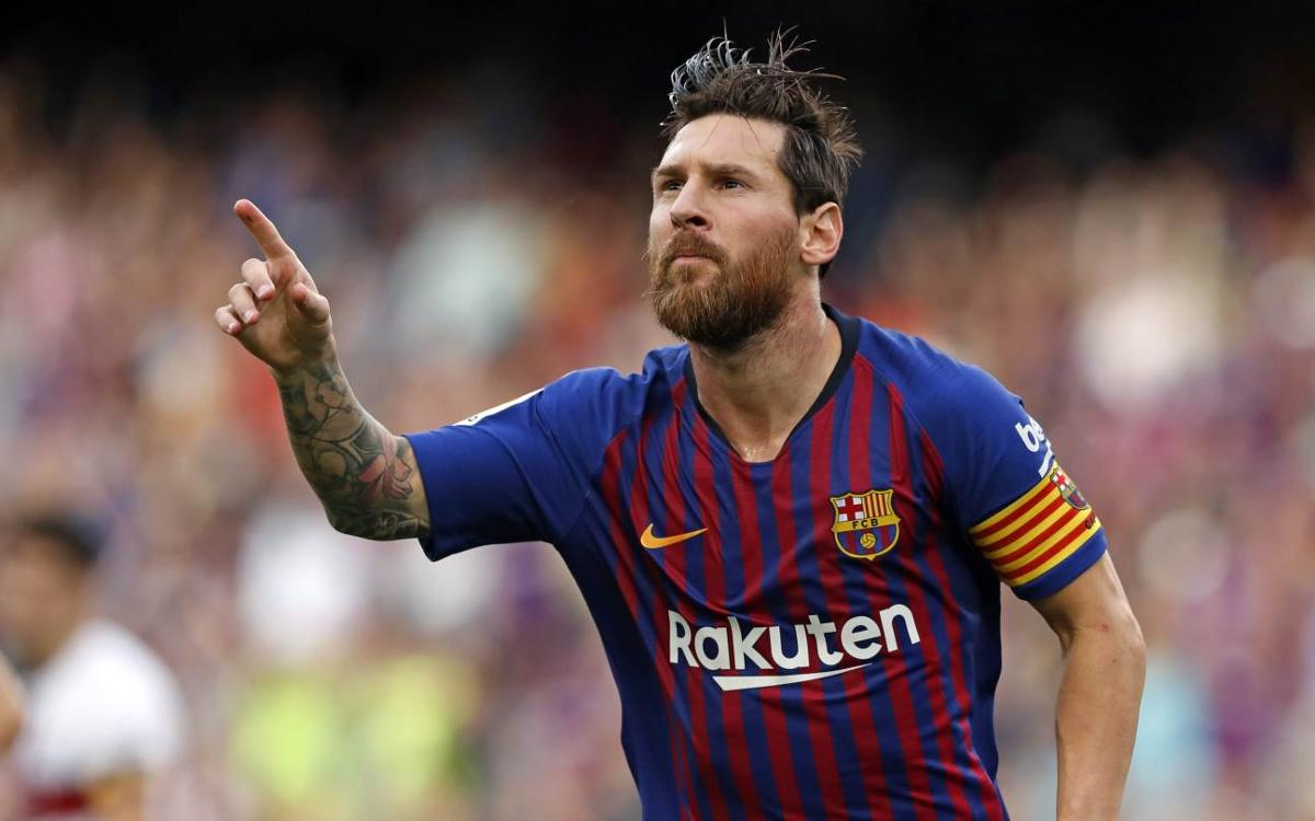 VIDEO: New record for Messi: goals against 37 different teams in the league