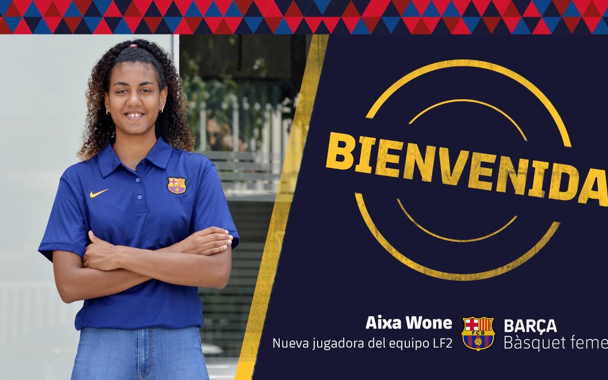 Aixa Wone se incorpora al Barça CBS