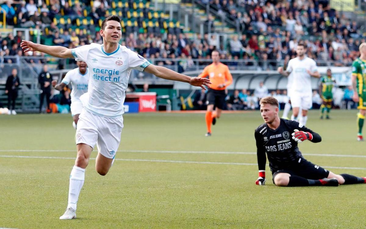 PSV maintain 100 per cent record with 7-0 win