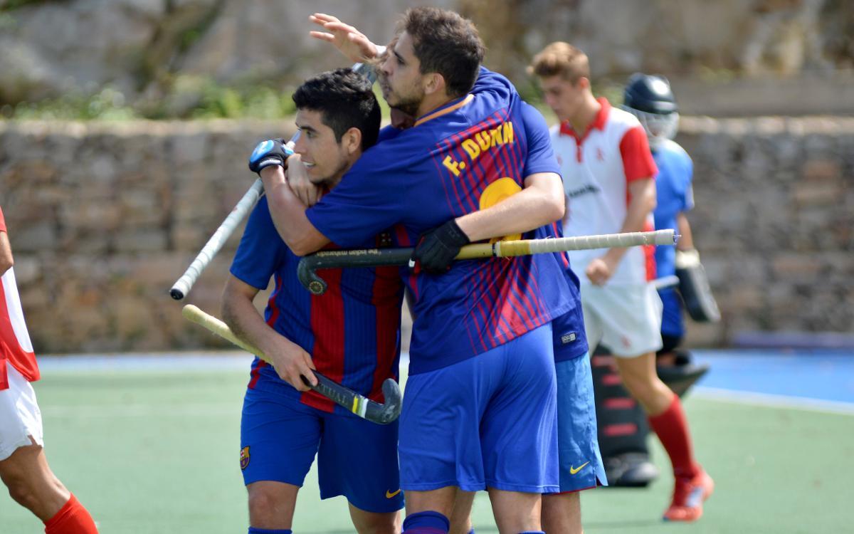 El Barça supera el CD Terrassa, acaba cinquè de la lliga catalana i agafa bones sensacions per a l'inici de lliga