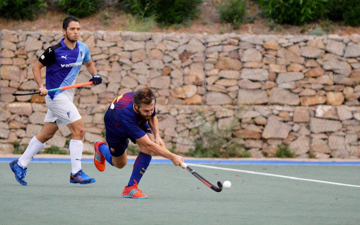Un Barça molt nou cau al Pau Negre i lluitarà pel cinquè lloc (0-2)