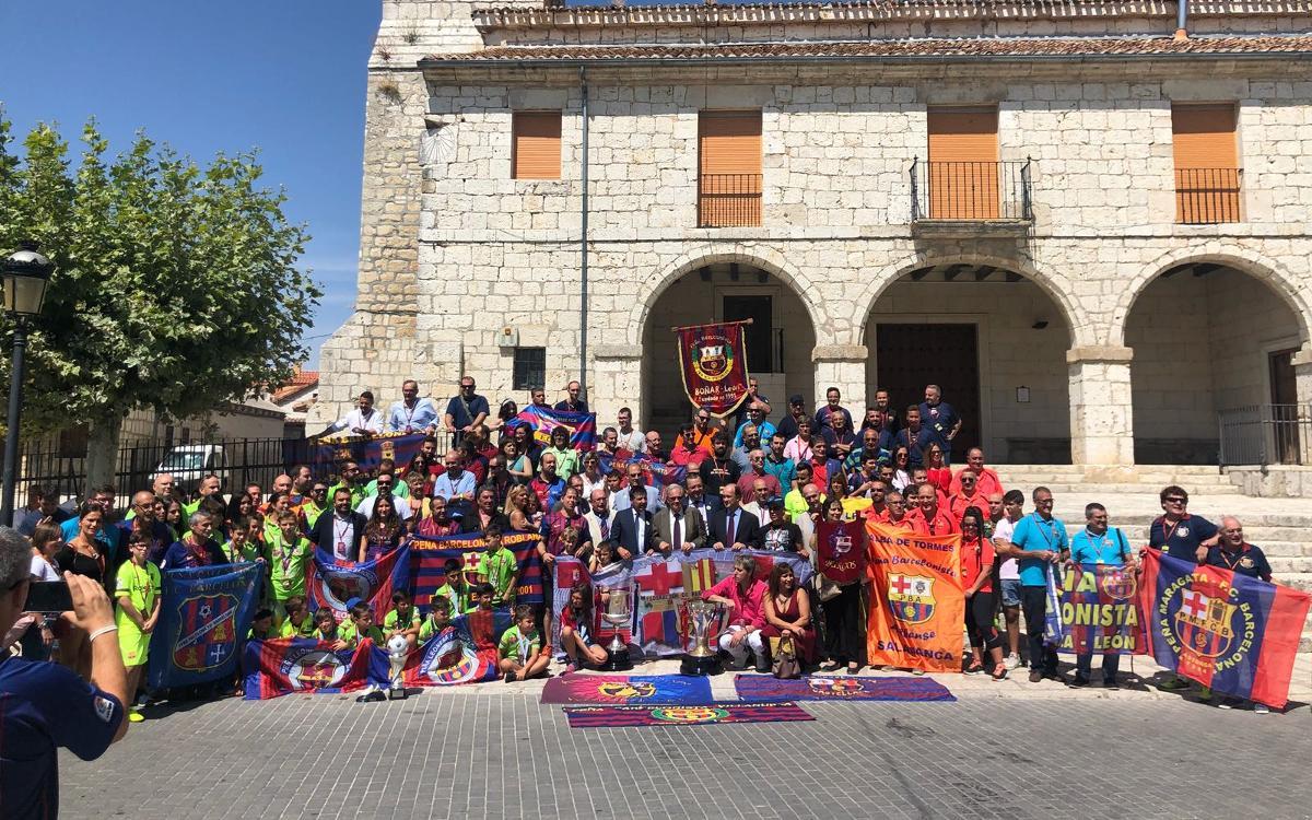 Más de 200 peñistas asisten al XVI Encuentro de Peñas de Castilla y León