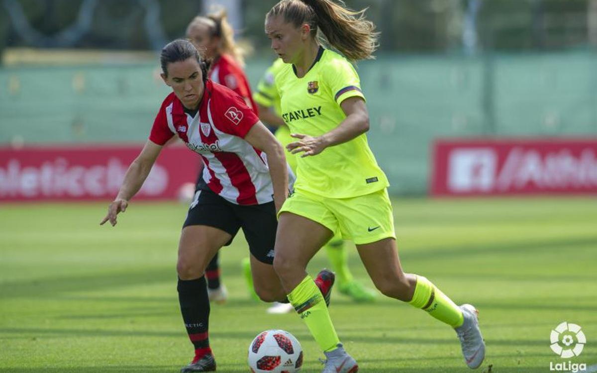 Athlètic Club – FC Barcelona Femení: Tres punts per començar, en un camp complicat (0-1)