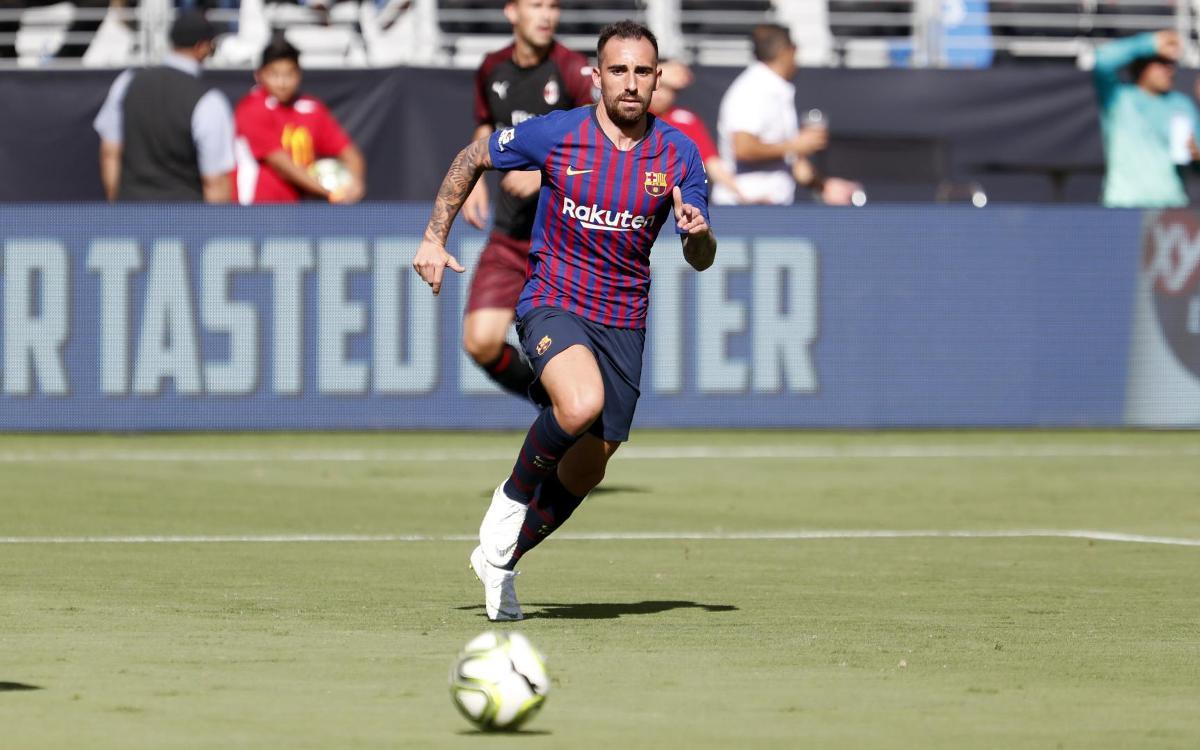 Acuerdo con el Borussia Dortmund por la cesión de Paco Alcácer