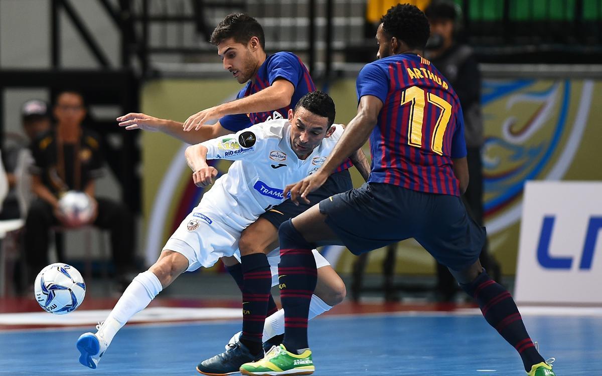 Carlos Barbosa – Barça Lassa: Los pequeños detalles evitan la final (3-1)