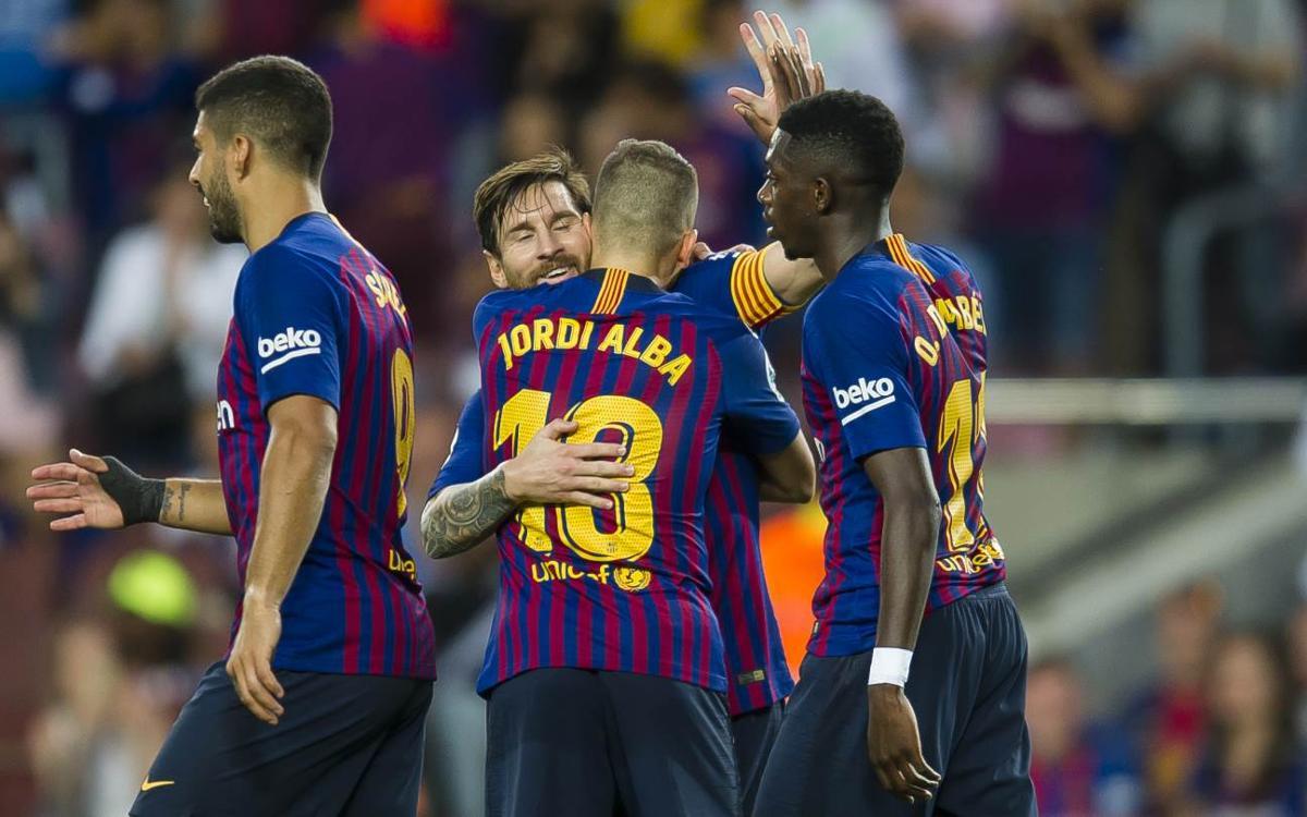 El FC Barcelona encadena 38 partidos de Liga en el Camp Nou sin perder