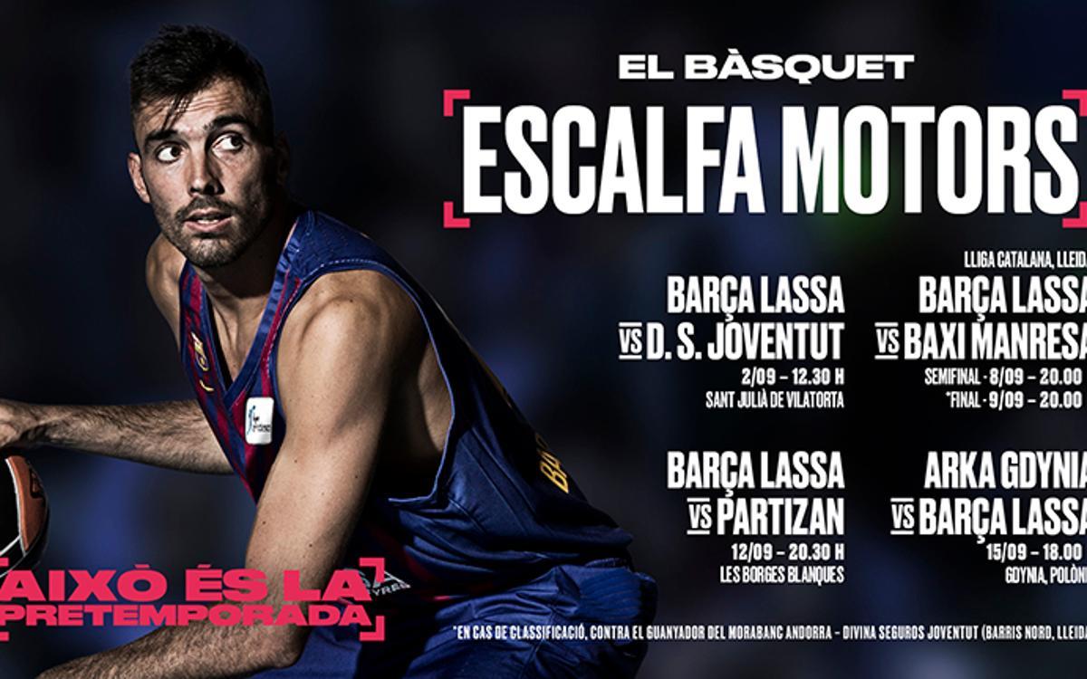 El debut del Barça Lassa a Sant Julià, en directe per Barça TV