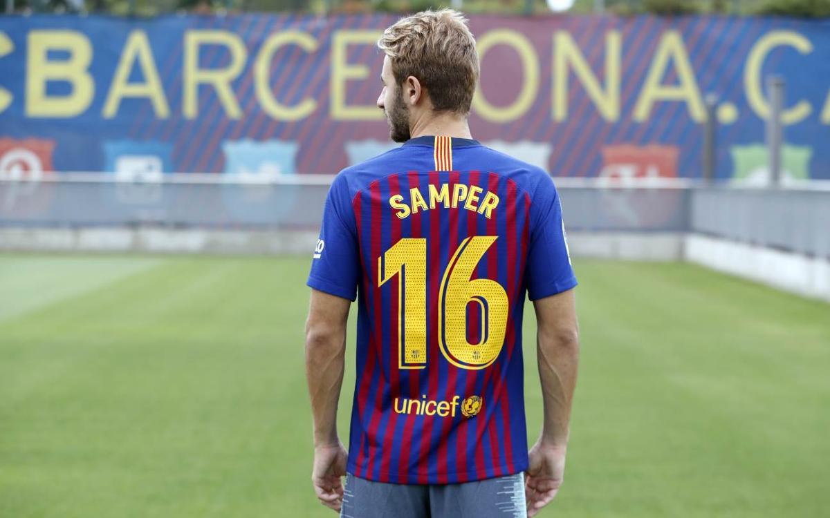 Sergi Samper lucirá el dorsal '16':